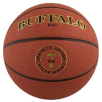 BUFFALO SPORTS BG COMPOSITE LEATHER BASKETBALL - SIZE 6 / 7 - TACKY GRIP