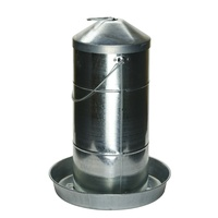 AgBoss Galvanised Poultry Feeder No.20  (302720)