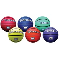 BUFFALO SPORTS SET 1 PREMIUM RUBBER BASKETBALLS - 6 BALLS (CORVAL003)