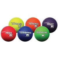 BUFFALO SPORTS SET 2 PREMIUM RUBBER PLAYGROUND BALLS - 6 BALLS (CORVAL008)