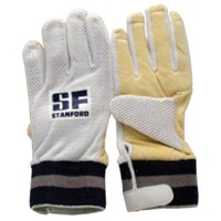 STANFORD CHAMOIS INNERS FOR CRICKET WICKET KEEPING GLOVES - MULTIPLE SIZES