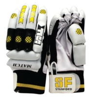 STANFORD MATCH BATTING GLOVES - LEFT OR RIGHT HANDED - MULTIPLE SIZES