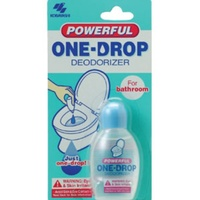 ONE-DROP POWERFUL BATHROOM DEODORIZER - PROVIDES UP TO 360 USES (FIRST109)