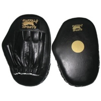 BUFFALO SPORTS STRAIGHT DELUXE FOCUS PADS - FULL GRAIN LEATHER (BOX206)