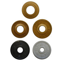 BUFFALO SPORTS COMPETITION IRON DISC WEIGHTS - MULTIPLE WEIGHTS