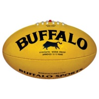 BUFFALO SPORTS ALL WEATHER SYNTHETIC AFL FOOTBALL - MULTIPLE SIZES AVAILABLE