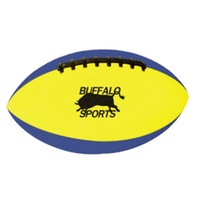 BUFFALO SPORTS HEAVY DUTY RUBBER FOAM FOOTBALL - 15CM LENGTH (PLAY074)