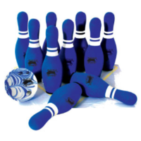 BUFFALO SPORTS MINI FOAM 10 PIN BOWLING SET - SET OF 10 PINS AND A BALL (FUN129)
