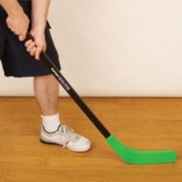 BUFFALO SPORTS SUPA TUFF STREET HOCKEY STICK - VIRTUALLY INDESTRUCTIBLE