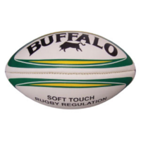 BUFFALO SPORTS SOFT TOUCH RUGBY LEAGUE BALL - MULTIPLE SIZES AVAILABLE