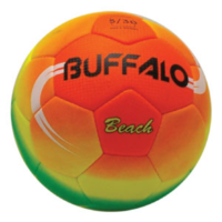 BUFFALO SPORTS BEACH SOCCER BALL - SIZE 5 - HAND STITCHED (SOC145)