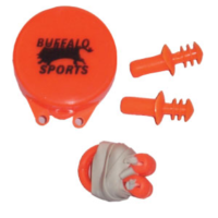 BUFFALO SPORTS SWIMMING EAR PLUGS & NOSE CLIPS SET (SWIM071)