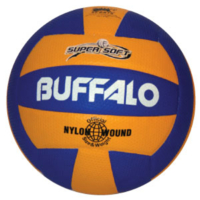 BUFFALO SPORTS SUPER SOFT MULTI COLOUR VOLLEYBALL - DIMPLED MATERIAL (VOLL003)