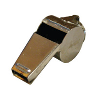 BUFFALO SPORTS MEDIUM METAL WHISTLE WITH RING 60.5 - HIGH QUALITY METAL (WHI005)