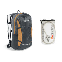 TATONKA BAIX 15L BAG & BLADDER COMBO - BLACK - DAYPACK (TAT 1514.040)