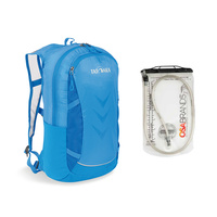 TATONKA BAIX 15L BAG & BLADDER COMBO - BRIGHT BLUE - DAYPACK (TAT 1514.194)