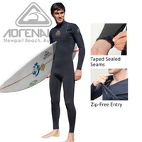 ADRENALIN HYPERDRY NO ZIP STEAMER MENS WETSUIT - ZIPPERLESS ENTRY