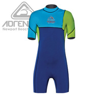 ADRENALIN FUZION NO ZIP SPRINGSUIT JUNIOR WETSUIT - THERMO GLIDE FLEECE LINING