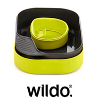 WILDO CAMP A BOX BASIC OUTDOOR COOKWARE MESS SET - CAMPING HIKING