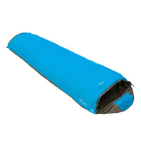 VANGO PLANET 50 CAMPING HIKING SLEEPING BAG - VOLT BLUE (VSB-PL050-N)