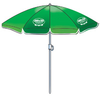 LAND & SEA PALM BEACH - HOLIDAY BEACH UMBRELLA - MULTIPLE COLOURS SUN SHELTER