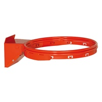 HART ELITE BREAK AWAY BASKETBALL RING - SOLID STEEL SPRING LOADED RING (4-418)