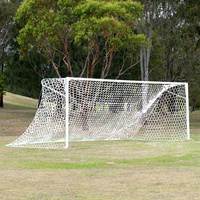 HART INTERNATIONAL SOCCER NETS - SUITS FULL SIZE GOAL (9-800)