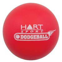 HART DODGEBALL - FOAM FILLED DODGEBALL WITH TOUGH PU OUTER SKIN (33-063)