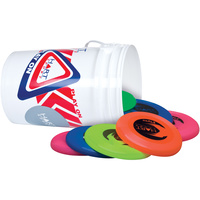 HART BUCKET OF FRISBEES - INCLUDES 20 FRISBEES (41-257)