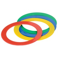 HART GAMES PLASTIC JUGGLING RINGS - MADE FOR 4MM THICK DURABLE PLASTIC (33-159)