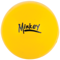 HART MINKEY HOCKEY BALL - EPDM OUTER WITH RUBBER/CORK CORE (11-207)