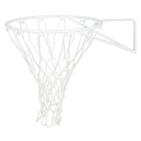 HART CLUB NETBALL RING - POWDERED IN WHITE, NET INCLUDED (13-221)