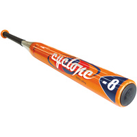 HART CYCLONE SOFTBALL BAT - DESIGN GIVES THE BAT A BIGGER SWEET SPOT