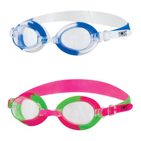 HART NEON JUNIOR SWIMMING GOGGLES - POLYCARBONATE ANTI-FOG CLEAR LENS