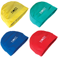 HART KIDS LYCRA SWIMMING CAP - DURABLE AND STRETCHY LYCRA - MULTIPLE COLOURS