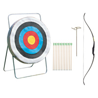 HART SINGLE ARCHERY STATION KIT - INCLUDES BOW, ARROWS, QUIVER & MORE (1-805)