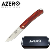 AZERO COCOBOLO WOOD POCKET KNIFE - 140MM OVERALL LENGTH (A158023)