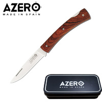 AZERO COCOBOLO WOOD POCKET KNIFE - 185MM OVERALL LENGTH (A140021)