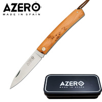 AZERO AZERO YEW POCKET KNIFE - 170MM OVERALL LENGTH (A120041)