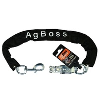 AgBoss Dog Ute Chain with Snap Hooks 4mm x 500mm (501121)