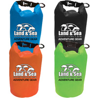 NEW 2019 LAND & SEA PERSONAL ITEMS DRY BAG WITH CLEAR WINDOW 1.5 LITRE