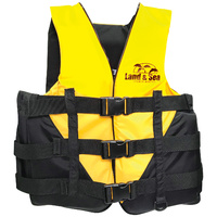 NEW 2019 LAND & SEA RESORT L50 LIFE JACKET PFD - HIGH VISIBILITY COLOUR