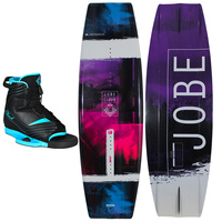2018 JOBE CHARM WAKEBOARD AND CLOUD BOOTS