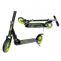 Adrenalin Street Runner 200 Kids & Adult Push Scooter - Black