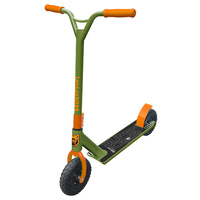 Adrenalin Supercross Off Road Kids & Adult Stunt Push Scooter - Orange