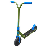 Adrenalin Supercross Off Road Kids & Adult Stunt Push Scooter - Blue