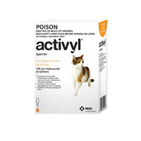 ACTIVYL CAT & KITTEN 0-4KG ORANGE 1'S (A2775)