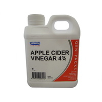 GEN PACK APPLE CIDER VINEGAR 4% 1L (AGPCV1)