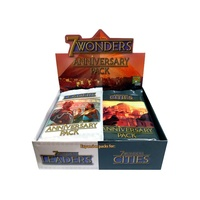 Asmodee 7 Wonders Cities Anniversary 14 Packs (ASMSEV11)