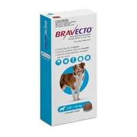 Bravecto Dog Chew Tick & Flea Treatment for 20-40kg Large Blue 1 Pack B0204